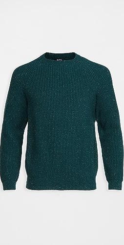 A.P.C. - Ludo Wool Crew Neck Sweater