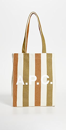 A.P.C. - Lou Striped Tote