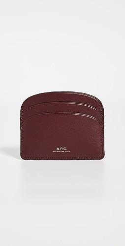 A.P.C. - Porte Carte Demi Lune Card Case