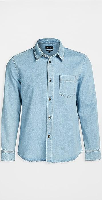 A.P.C. Victor Button Down Shirt