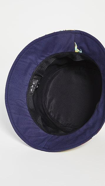 A.P.C. Bob Alex Bucket Hat
