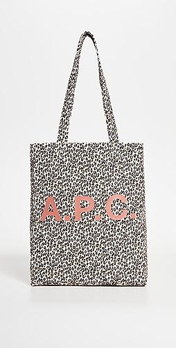 A.P.C. - Lou Leopard Tote