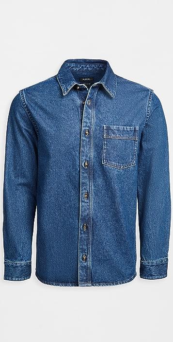 A.P.C. Cyril Denim Shirt