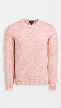 아페쎄 스웨터 A.P.C. Pull Down Sweater,Rose Poudre