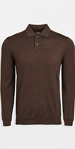 A.P.C. - Jerry Polo Pullover