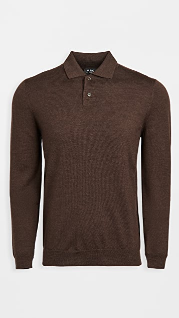 A.P.C. Jerry Polo Pullover
