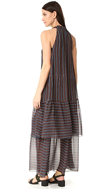 Apiece Apart Pozos Tiers Dress