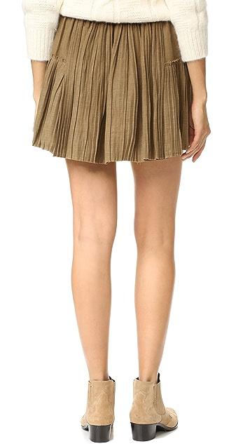 Apiece Apart Palomitas Accordion Skirt
