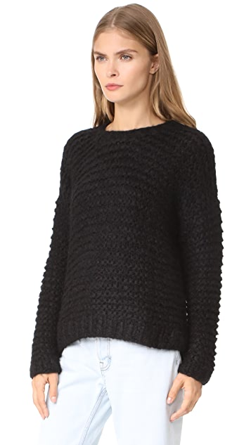 Apiece Apart Nepenthe Alpaca Turtleneck Sweater