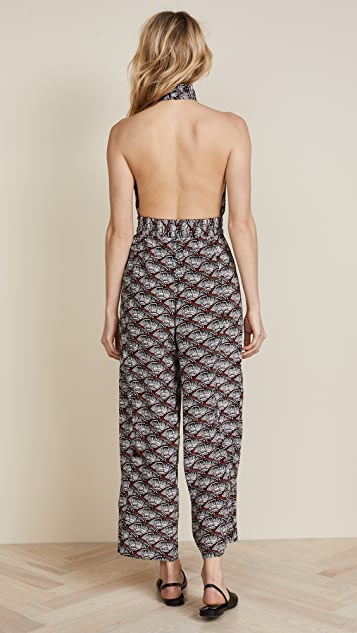 Apiece Apart Archer Backless Jumpsuit