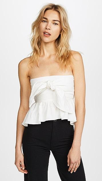 Apiece Apart Twyla Convertible Wrap Top