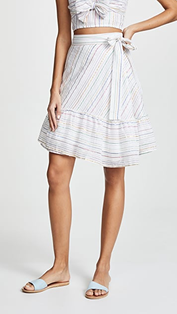 Apiece Apart Tamarind Wrap Skirt