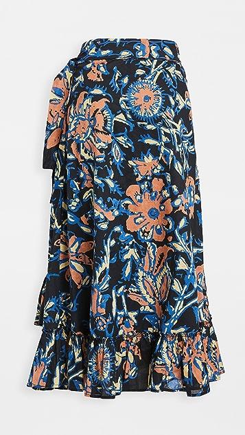Apiece Apart Feliz Wrap Skirt