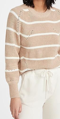 Apiece Apart - Celeste Crop Knit Sweater