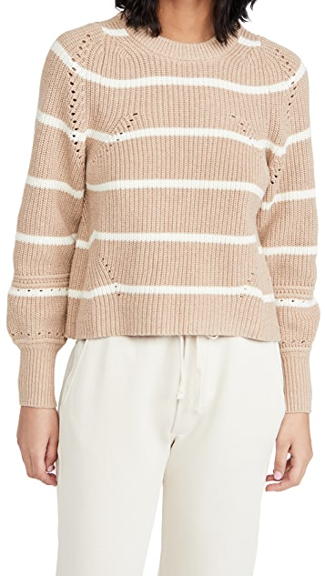 Apiece Apart Celeste Crop Knit Sweater