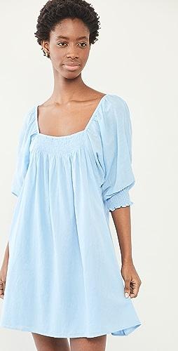 Apiece Apart - Inacea Balloon Sleeve Dress