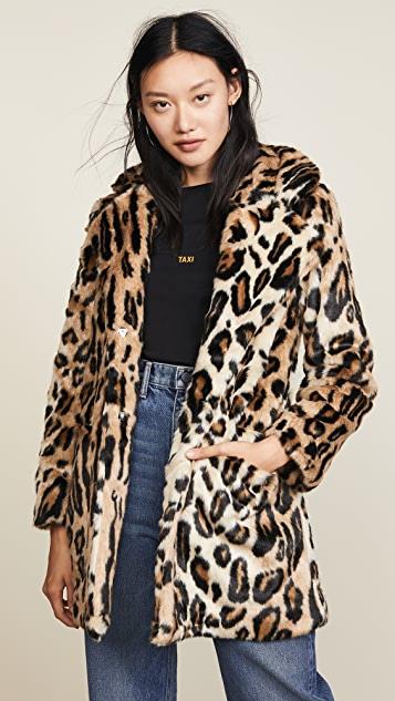 Apparis Margot Faux Fur Coat