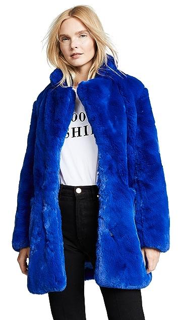 Apparis Sophie Faux Fur Coat