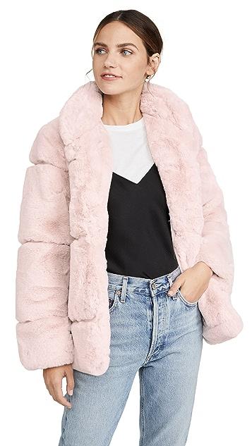 Apparis Sarah Faux Fur Jacket