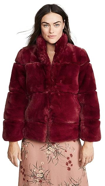 Apparis Sarah 人造皮毛夹克