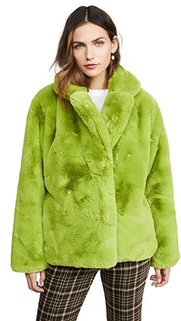 Apparis Manon Faux Fur Jacket