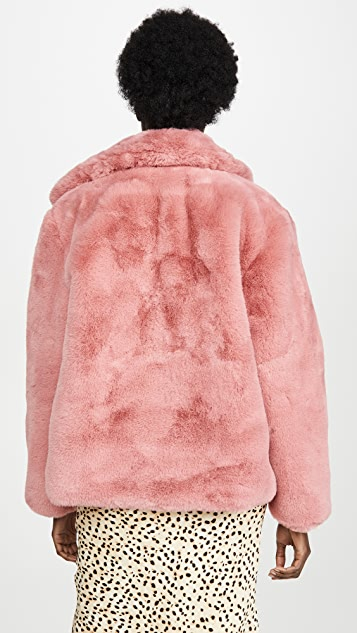 Apparis Manon Faux Fur Jacket