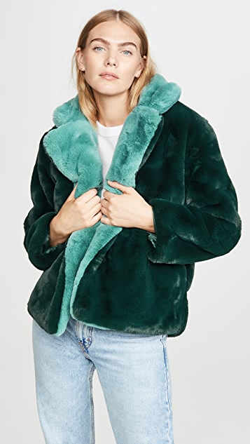 Apparis Kendall Faux Fur Jacket