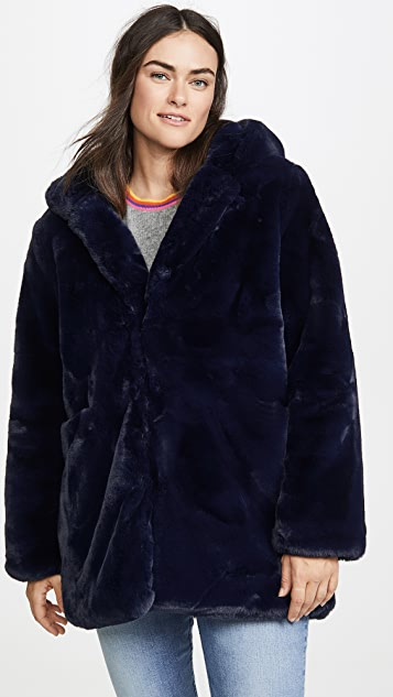 Apparis Marie Faux Fur Coat