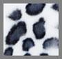 цвет слоновой кости с леопардовым принтом