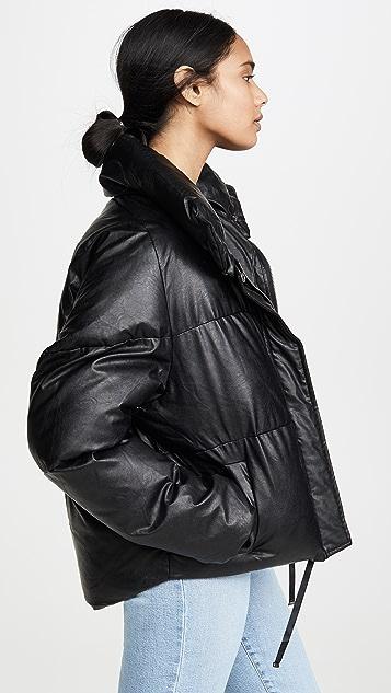 Apparis Camila Vegan Leather Puffer
