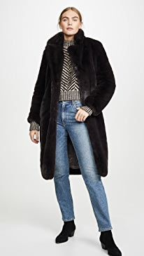 Siena Faux Fur Coat