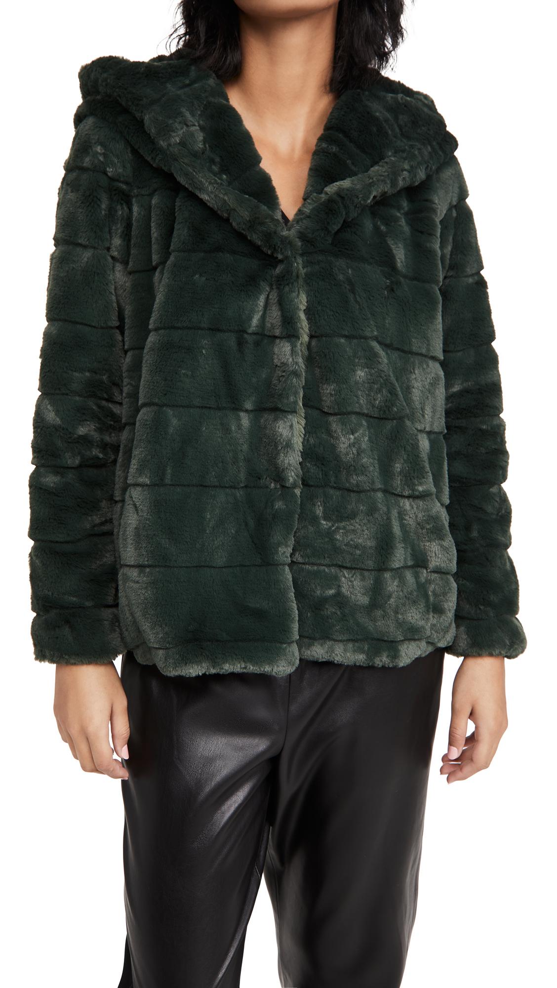 Apparis Goldie Hooded Coat