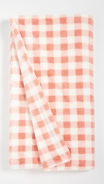 Apparis Gingham Blanket
