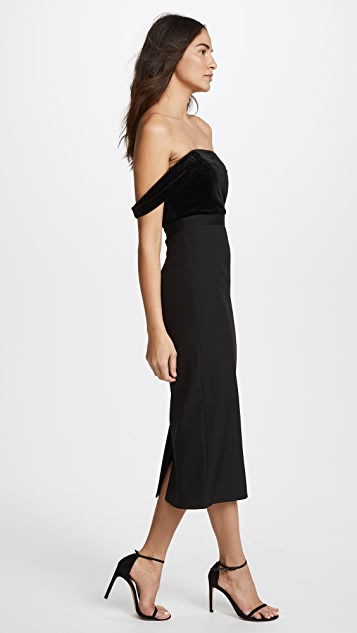 AQ/AQ Francesca Midi Dress