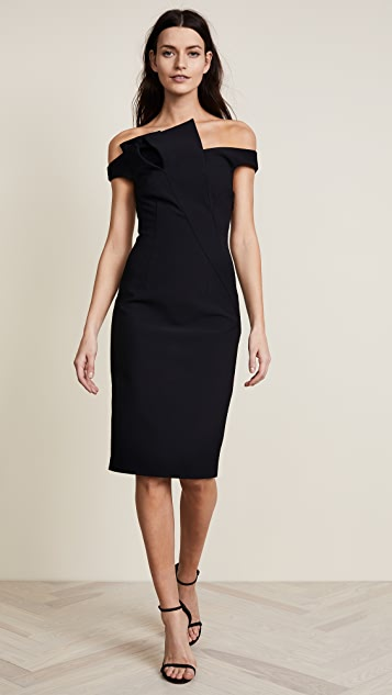 AQ/AQ Iris Dress - Black
