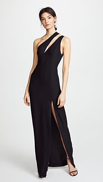 AQ/AQ Florence Maxi Dress - Black