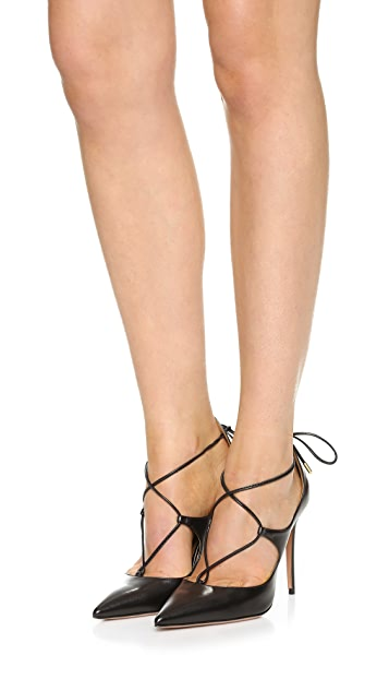 Aquazzura Christy 105 Pumps