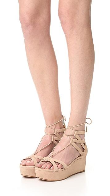 Aquazzura Beverly Hills Flatform Sandals