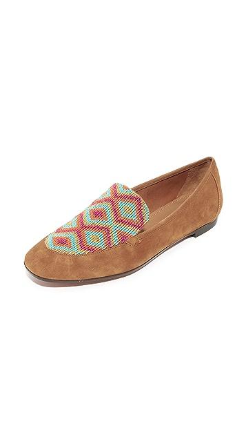 Aquazzura Beaded Loafers