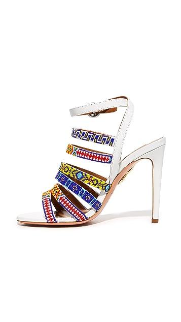 Aquazzura Beaded Sandals