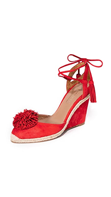 7e64ac1f37a Aquazzura Sunshine Wedge Espadrilles