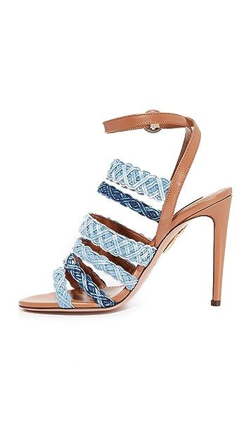 Aquazzura Tyra Sandals
