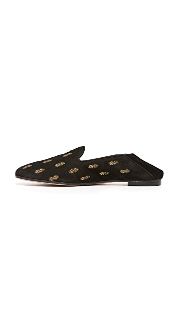 Aquazzura Ananas Summer Loafers