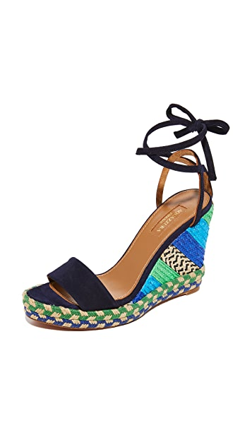 Aquazzura Baru Wedge Espadrilles