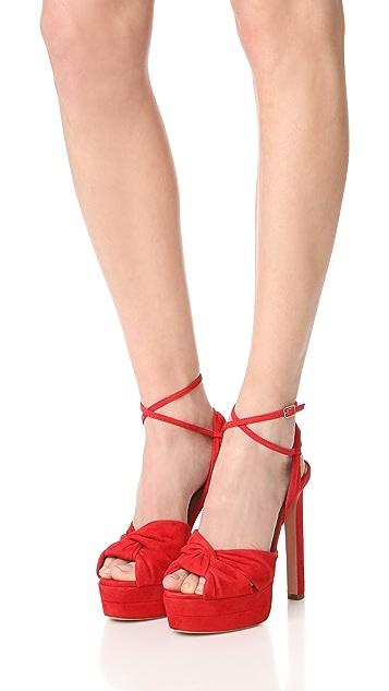 Aquazzura Movie Star Plateau Sandals