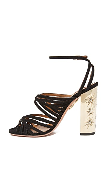 Aquazzura Trinity Stars Sandals