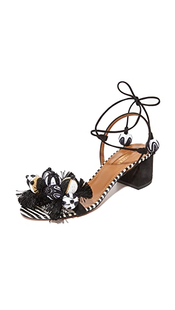 Aquazzura Tropicana 50 Sandals