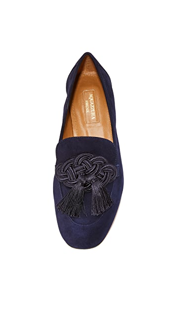 Aquazzura Legend Mocassins