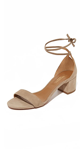 Aquazzura City 50 Sandals