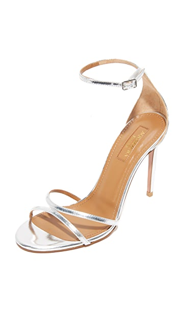 Aquazzura Purist 105 Sandals